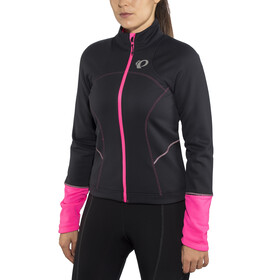 PEARL iZUMi Elite Escape Softshell Jacket Women black/screaming pink